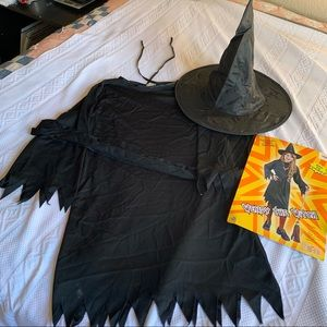 Witch Costume Size Child Small